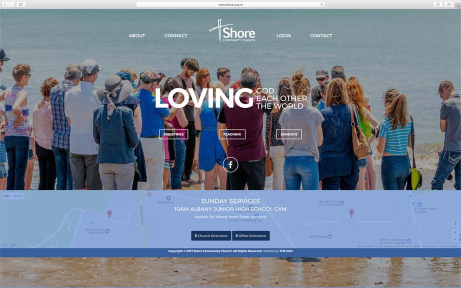 Shore Community Church Website